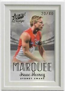 2021 Footy Stars Prestige Marquee (MP16) Isaac HEENEY Sydney 20/40