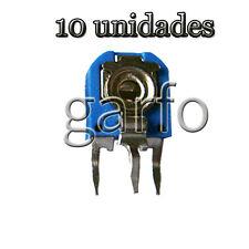 10 Potenciometro Vertical 2000 2K Ohm 1/2 W  Resistencia Variable ajustable