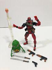 Marvel Legends Series 6 Deadpool Toybiz -Doop Figure Authentic x-men weapons