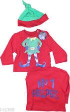 Conjuntos de ropa de niño de 0 a 24 meses rojo 100% algodón