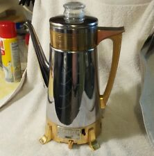 Dormeyer Golden Goddess #22  Percolator Coffee Maker vintage rare collectible
