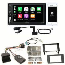 Sony XAV-AX1005DB DAB+ USB Bluetooth Autoradio Einbauset für Mercedes SLK R171