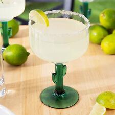 Set of 4 Cactus Margarita Glass 16 oz Libbey 3620JS Juniper Stem