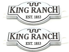 2015-2017 Ford F-150 King Ranch Front Door Emblem Nameplates OEM FL3Z-9942528-G