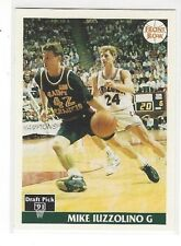 1991 FRONT ROW BASKETBALL MIKE IUZZOLINO #8 - ST. FRANCIS