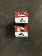 2 PIECE PACK Spark Plug-Copper Plus Champion Spark Plug 401 RS12YC