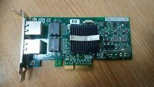 HP DUAL PORT GIGABIT ETHERNET ADAPTER 412651-001 NC360T LOW PROFILE