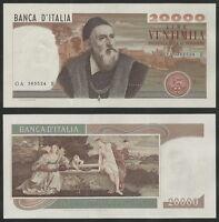 """REPUBBLICA ITALIANA - 20000 Lire """"Tiziano"""" 21.02.1975  FDS"""