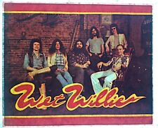 Original Vintage 70s Wet Willie Iron On Transfer Southern Rock