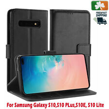 Brand NEW PU Leather Wallet Case Cover For Samsung Galaxy S10, S10 PLus, S10 E