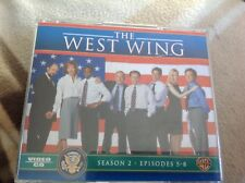 The West Wing: Complete Season 2 - Episodes 5-8 Box Set) Rare Video CD.