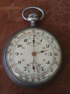 Antique Watch / Stop Watch French or Swiss for repair