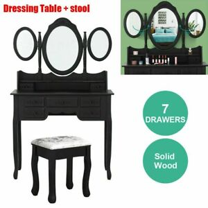 padding Rotatable Furniture Table Makeup Swiveling Non-toxic Dressing Smooth