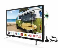 """Sharp 24"""" Smart LED DVD 12v/24v TV with Freeview Play, Satellite, Saorview, PVR,"""