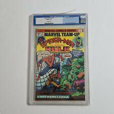 Marvel Team-Up #27 Nov 1974 graded 7.0 by CGC featuring Spider-man & Hulk