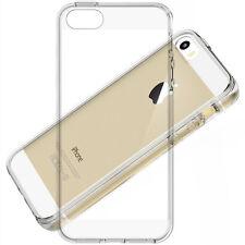iPhone 5/5S/ SE Ultra Slim TPU Case Schutz Hülle Silikon Cover Clear Transparent