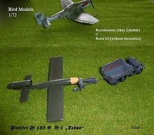 """Fieseler Fi 103 e v-1 """"tabun"""" 1/72 Bird MODELS resinbausatz/resin kit"""