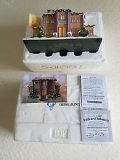 "the simpsons christmas village hawthorne:""Springfield Elementary School"" NEW!!"