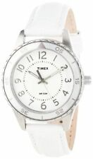 """Watch with Leather Band Timex Women's T2P022 """"Ameritus"""""""