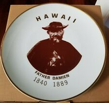 New listing Father Damien of Molokai Hawaii Collectible Plate