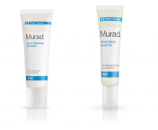 MURAD ACNE CLEARING SOLUTION 1.7 oz + MURAD ACNE SPOT FAST FIX 0.5 oz