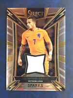 Memphis Depay 2017-2018 select soccer sparks patch relic SP-MD Lyon/Barcelona