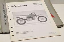 2004 CRF70F CRF70 F GENUINE Honda Factory SETUP INSTRUCTIONS PDI MANUAL S0259
