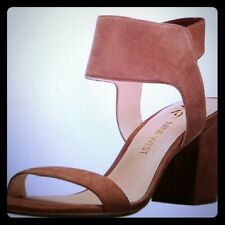 NWOT Tan Suede Sandals by Nine West Size 9