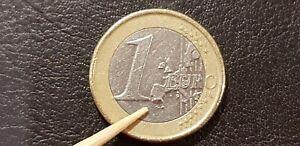 Finland 1 Euro 2001 Error Coin Rare