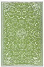 FAB HAB-MURANO-Lime Verde & Crema Indoor OUTDOOR Tappeto/Tappetino (120 CM x 180 cm)