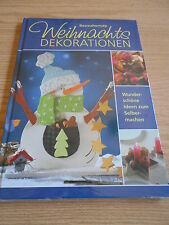Bastelbuch Weihnachtsdekoration - Weihnachten - basteln Deko  - NEU