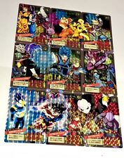 Carte dragon ball Dbz Fancard super battle Puzzle  card prism Saga DBS Full Arc