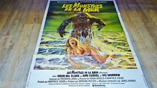 LES MONSTRES DE LA MER humanoids from de deep ! affiche cinema 1979
