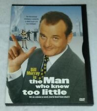 The Man Who Knew Too Little DVD *RARE opp