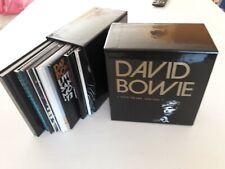 DAVID BOWIE FIVE YEARS 1969-1973 12 CD BOX SET Near mint Gold Ziggy Hunky Space