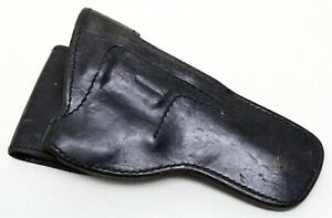 """DON HUME H901-SH No.1-4"""" Fixed Sights RH Black Leather Service Duty Holster"""