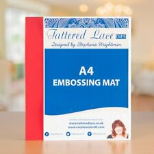 Tattered Lace A4 EMBOSSING MAT - Suitable for most die cutting/emboss machines