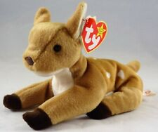 TY Beanie Babies Whisper Fawn With Original Swing Tag 1997 Excellent Condition