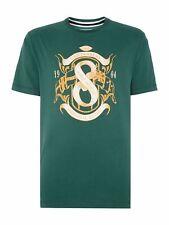 Canterbury Flag T Shirt Mens Medium Top Rugby