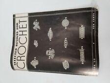 Vintage 1935 Selected Designs for Crochet Pattern Book 59 Hat Glove Collar Bag