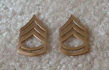 Platoon SGT. or Sergeant First Class Collar Rank (Pair)
