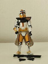 Hasbro Star Wars ROTS Commander Bly Clone Trooper Brown Stripe Action Figure