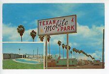 Texan Mobile Park—Vintage MOBILE HOMES TRAILERS Campers Motel Roadside 1960s