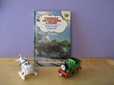 Thomas the Tank'S friends PERCY & HAROLD book with a PERCY and HAROLD toy