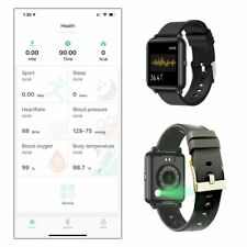 OXITEMP Smart Watch. Live Oximeter Thermometer, Pulse, Monitor, Activity Tracker
