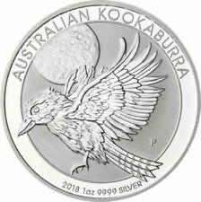 Kookaburras aus Silber mit 1 oz. Edelmetallgehalt pro Einheit