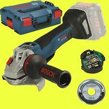 BOSCH Akku-Winkelschleifer GWS 18V-10 PSC SOLO  + L-Boxx + Schnellspannmutter