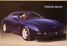 (PRL) 1998 FERRARI 456/M AUTO TOP CAR PHOTO FOTO VINTAGE AFFICHE PRINT POSTER
