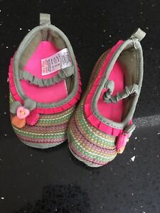 Baby Girls Next Soft First Shoes Size 6-12 Months