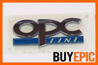 Opel OPC LINE Schriftzug Emblem, Corsa, Astra, Zafira, Insignia, Turbo, VXR, NEU